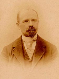Portrait photographique d'Eugène Sabouraud